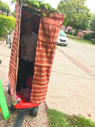 the travelling sukkah