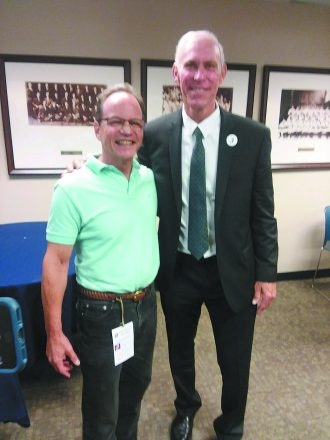 Jim Berk catches up with ex-Detroit Tigers star and new Baseball Hall of Famer Alan Trammell on the day Trammell was honored by the Tigers this summer.