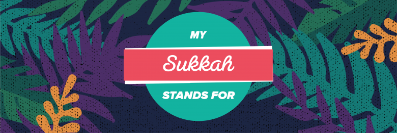 logo for Repair the World's #MySukkahStandsFor digital campaign