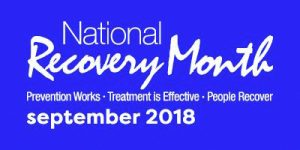 Recovery Month 2018