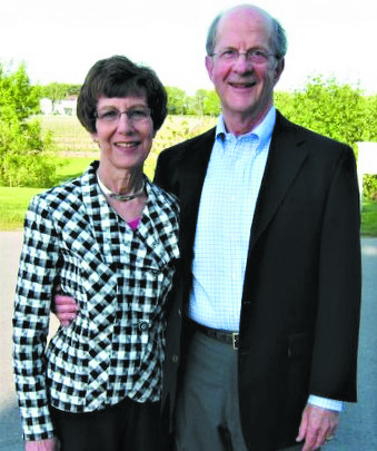 Enid and Rick Grauer