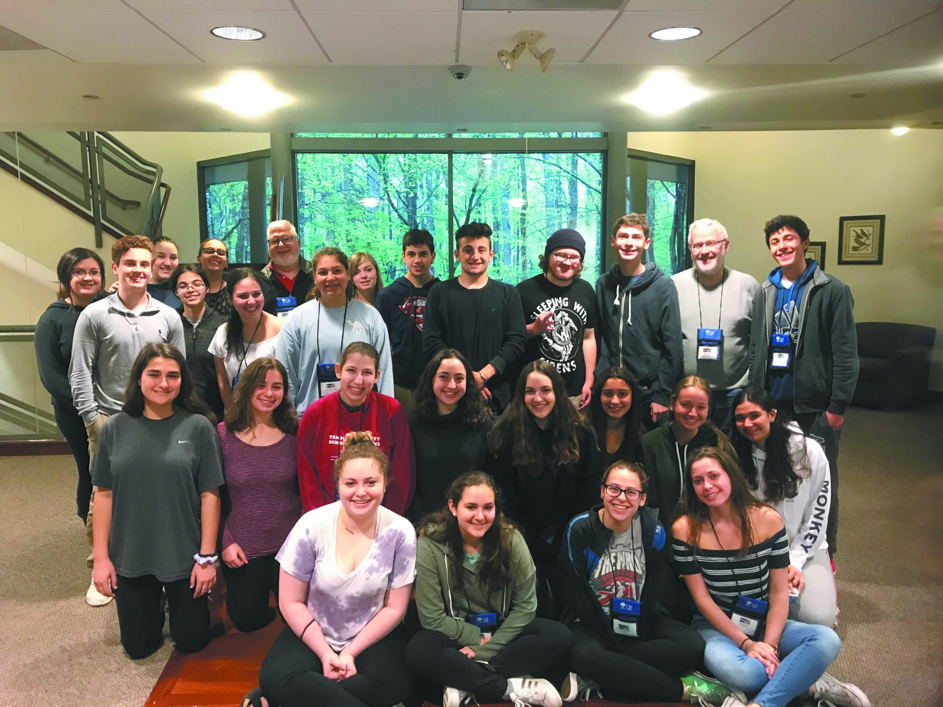 The April 2018 Teen Israel Leadership Institute.