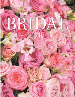 Detroit Jewish News Bridal Special issue 2018 cover
