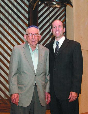 Rabbi Starr and his grandfather