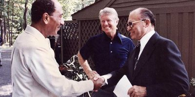 Israel and Egypt Sign Camp David Accords