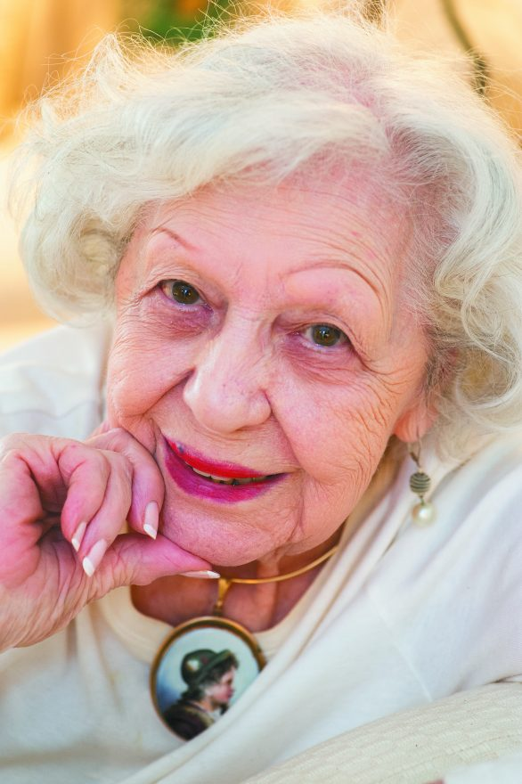 Judy Eder, 100 years young