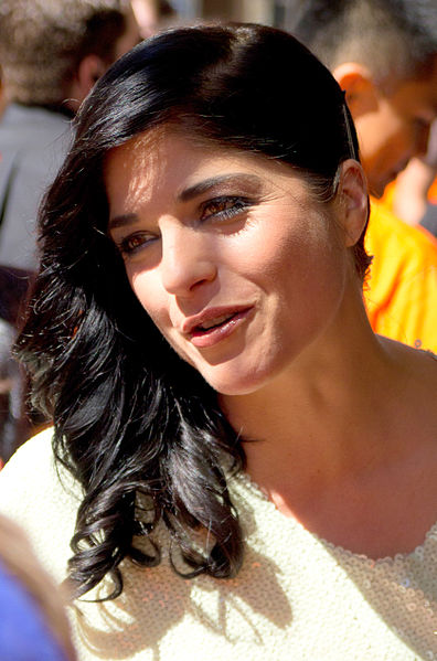 Actress Selma Blair