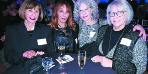 Marsha Petrozzi Gordon of Birmingham, Iris Shulman and Janet Lyubarsky Lebenbaum of Windsor, and Karen Flagg of Toronto.