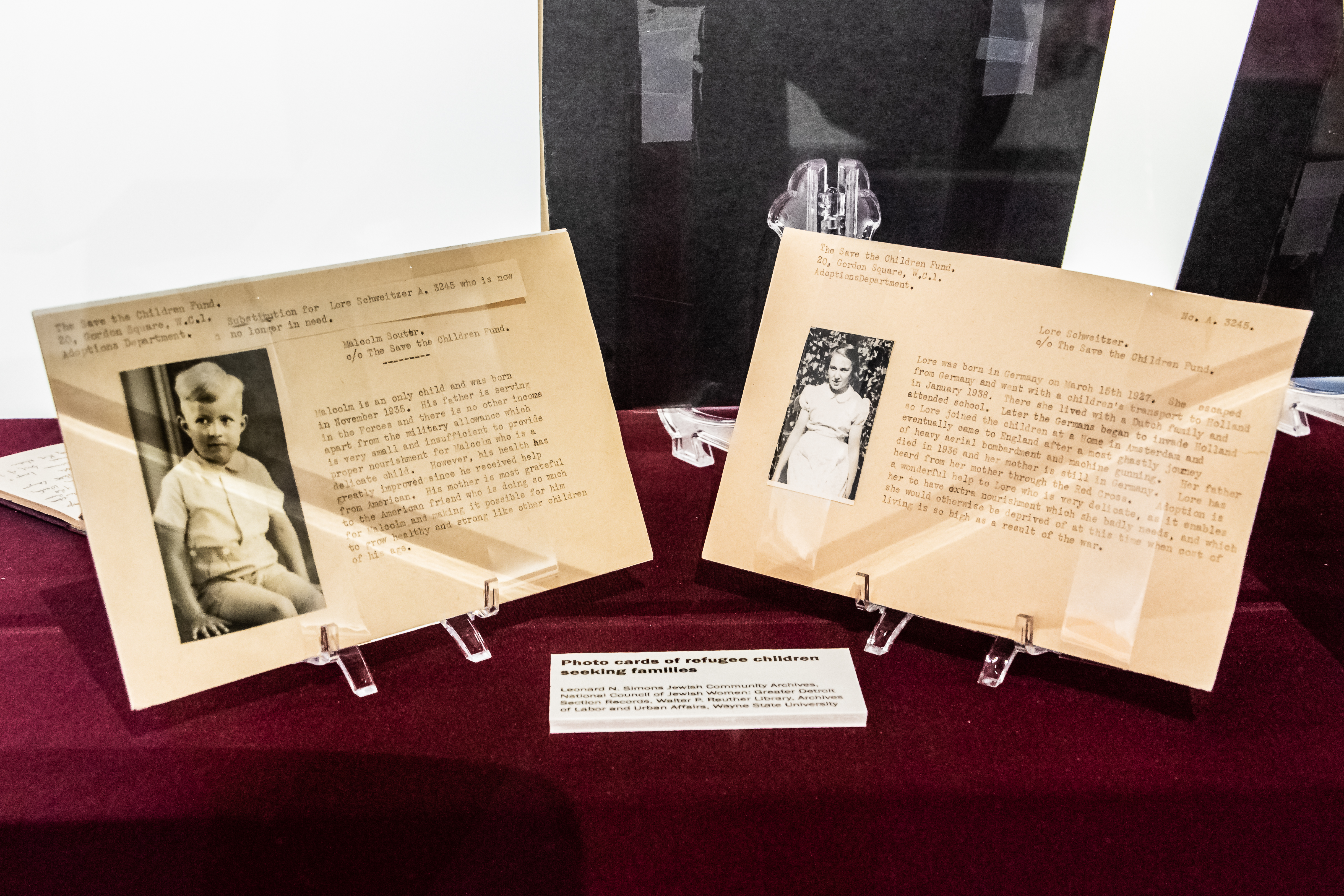 images of Jewish News articles on the Holocaust and the rise of Nazism