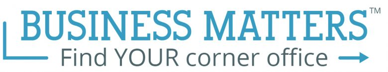 Business Matters Find YOUR corner office logo