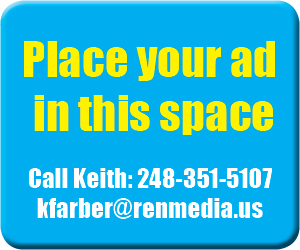 "ad reading ""place your ad in this space call Keith: 248-351-5107. kfarber@renmedia.us"""