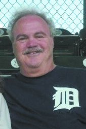 Richard Maltz at a Detroit Tigers game two days before he passed away.