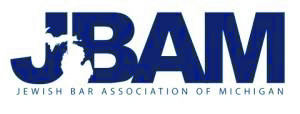 JBAM (Jewish Bar Association of Michigan) logo