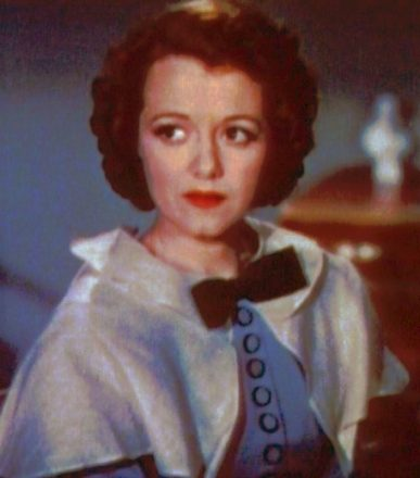Janet Gaynor in the 1937 A Star is Born