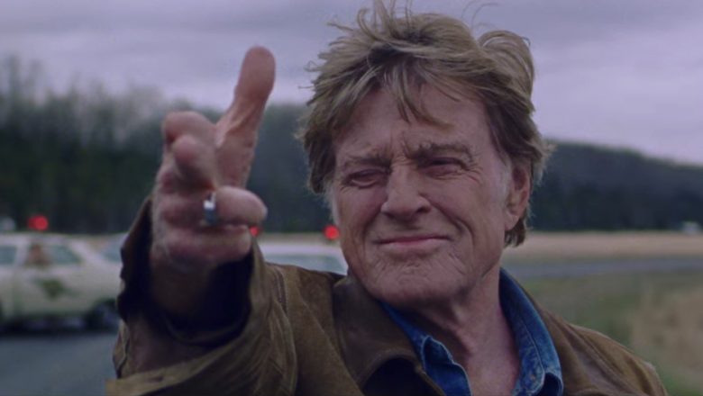 Robert Redford in a still from the movie The Old Man & the Gun
