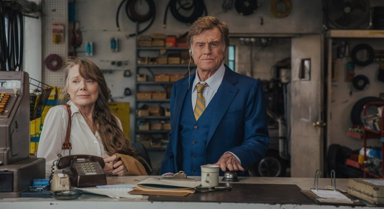 Sissy Spacek and Robert Redford in a still from the movie The Old Man & the Gun
