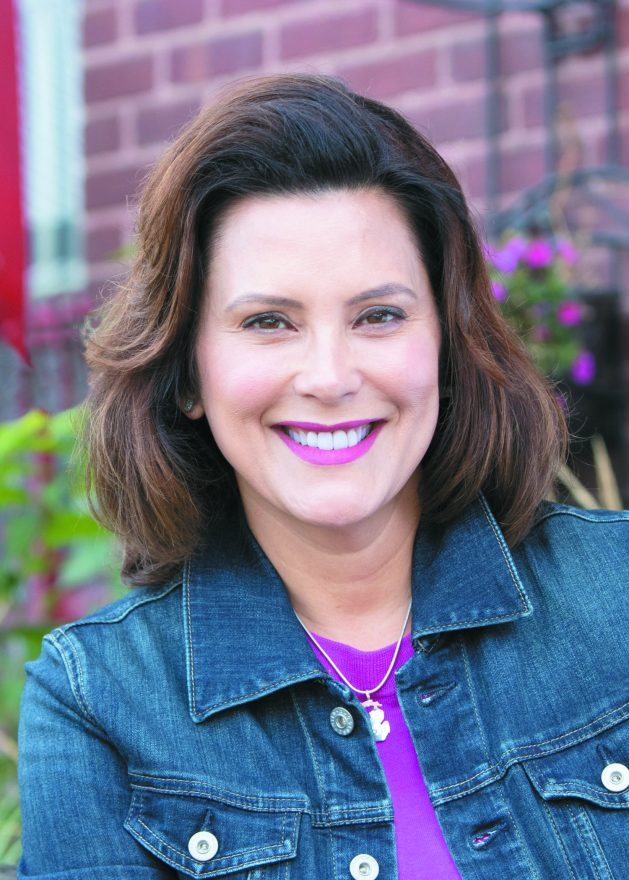 Gretchen Whitmer, one of the Michigan gubernatorial candidates