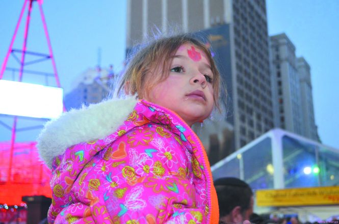 Ariella Bednarsh, now 8, will be honored at Menorah in the D.