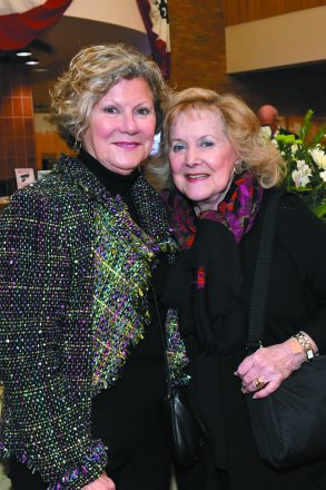 Sandy Hermanoff of Bingham Farms and Mary Lou Zieve of Bloomfield Hills