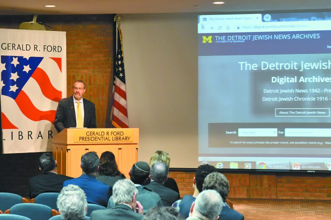 University of Michigan President Dr. Mark Schlissel
