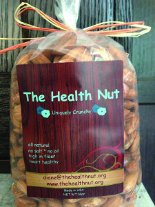 a package of nuts from The Health Nut.