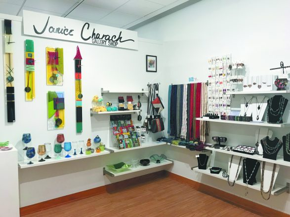 The new gallery shop.