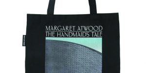 Handmaid's Tale tote bag from Out of Print clothing