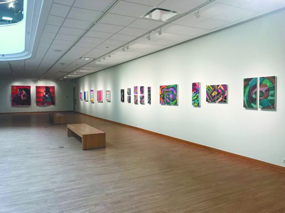 The renovated gallery.