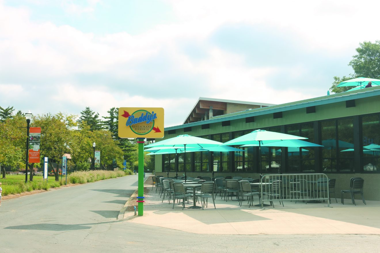 Buddy's Pizza at the Detroit Zoo