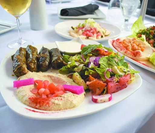Lebanese food from Mandaloun Bistro