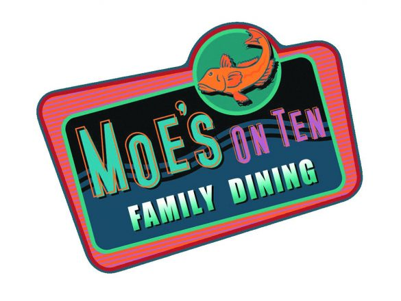 Moe's on Ten Family Dining logo