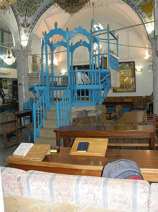 The Abuhav Synagogue was built in Safed in the late 15th century.