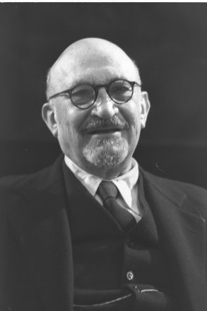 Chaim Weizmann, shown in 1949, played an important role in obtaining the Balfour Declaration and became Israel's first president.
