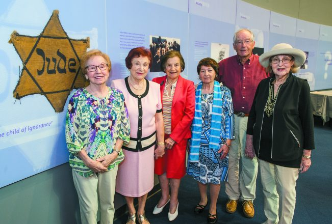 Sophie Klisman, Gita Greisdorf, Rae Nachbar, Esther Lupyan, George Erdstein and Paula Marks-Bolton are among local Holocaust survivors who speak to tour groups.