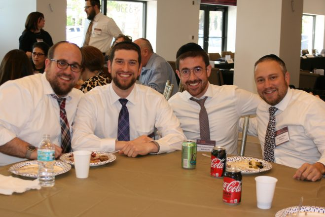 Rabbi Yossi Goldblatt, Operations Director at Yeshiva Beth Yehuda in Southfield, MI, Rabbi Dovid Gewirtz, School Administrator at Yeshiva Torat Emet in Houston, TX, Rabbi Nosson Yishaya Schwartz, Director of Institutional Advancement at Yeshiva Toras Chaim Toras Emes in Miami, FL, and Rabbi Deon Nathan, CFO/COO at Torah Day School of Dallas.