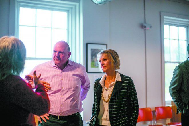 Steve Ballmer and wife Connie