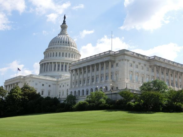 U.S. Capitol Building in Washington, D.C. where the House of Representatives meets.