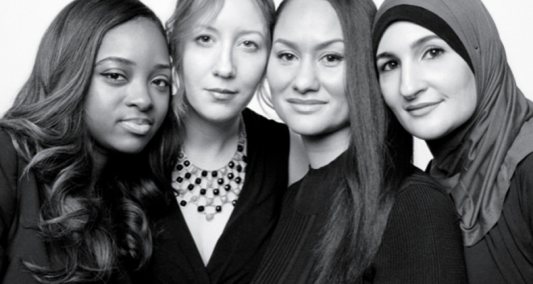 Women's March leaders Tamika Mallory, Bob Bland, Carmen Perez and Linda Sarsour.