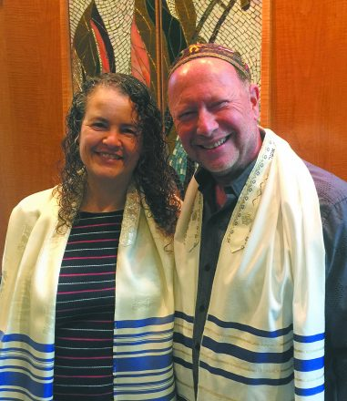 Rabbi Aura Ahuvia and Rabbi Emeritus Arnie Sleutelberg celebrate Shir Tikvah's 36 years at a Nov. 9-10 anniversary gala in Troy.