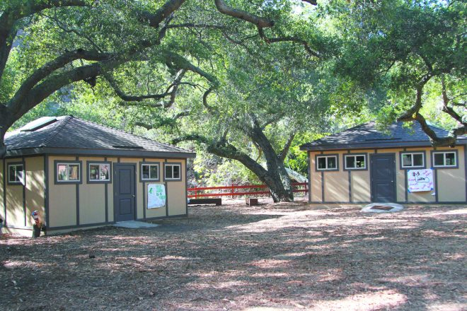Camp JCA Shalom in Malibu was one of three Jewish camps to be destroyed by fire in California.