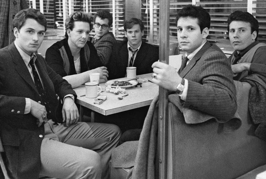 Scene from the movie Diner (1982)