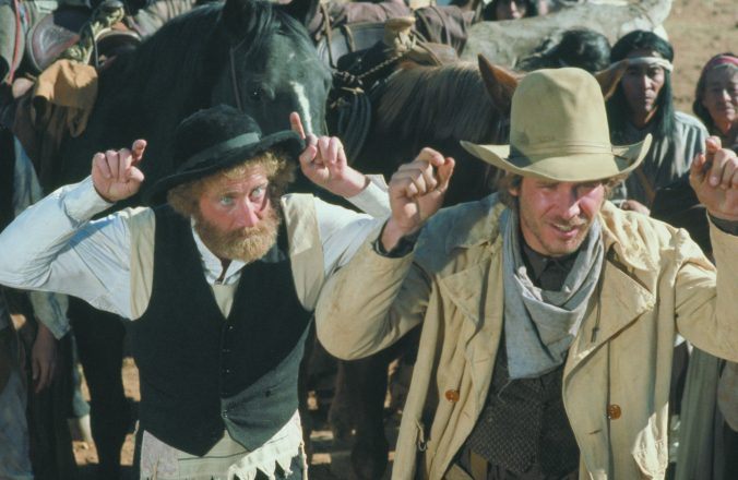 Scene from the movie The Frisco Kid (1979)