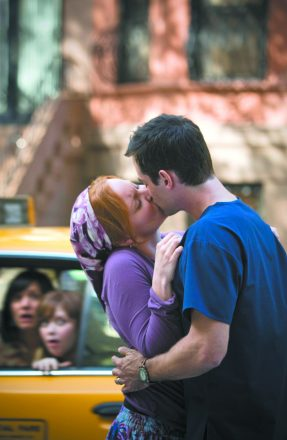 Scene from the movie Loving Leah (2009)