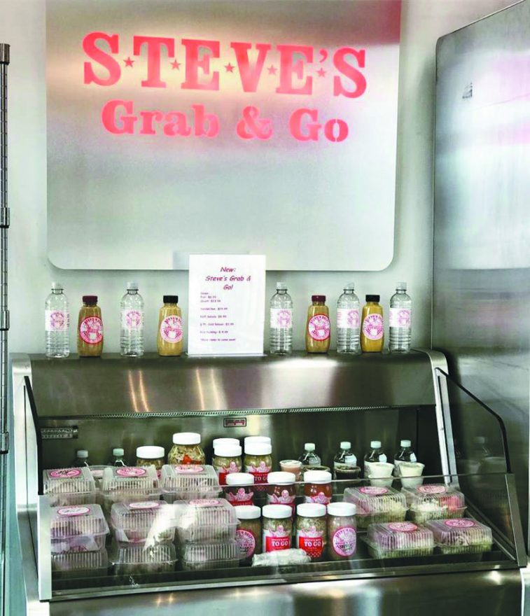 "Steve's Deli ""Grab & Go"" counter"