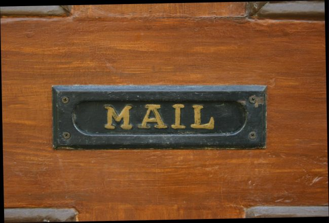 """mail slot reading """"mail"""""""