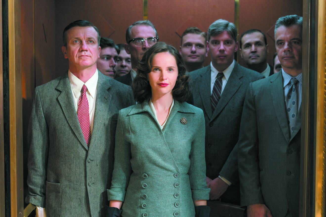 Felicity Jones stars as Ruth Bader Ginsburg in Mimi Leder's ON THE BASIS OF SEX, a Focus Features release.