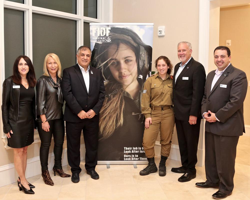 Friends of Israel Defense Forces gather in Florida