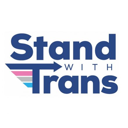 Stand with Trans Logo