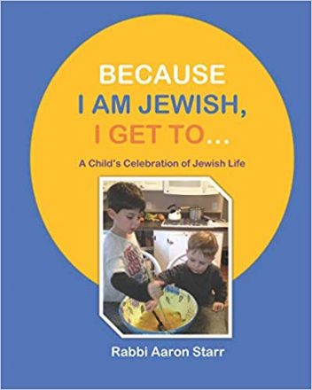 Rabbi Aaron Starr recently published this children's book