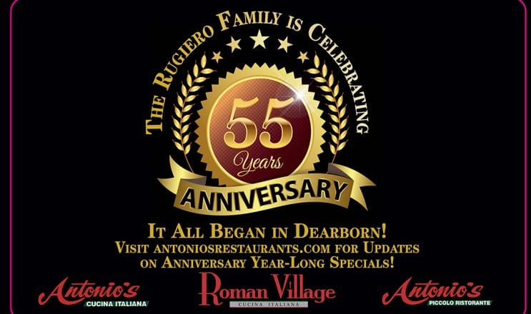 Antonios And Roman Village Restaurants Celebrate 55 Years In Business